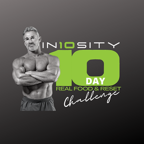 MALE 10 Day Real Food & Reset Meal Plan