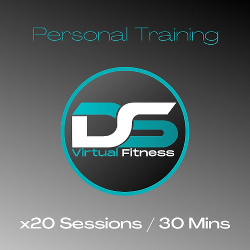 x20 30 Minute Personal Training Sessions