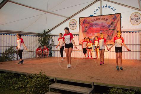 Auftritt beim Sommerfest der Feuerwehr Herborn