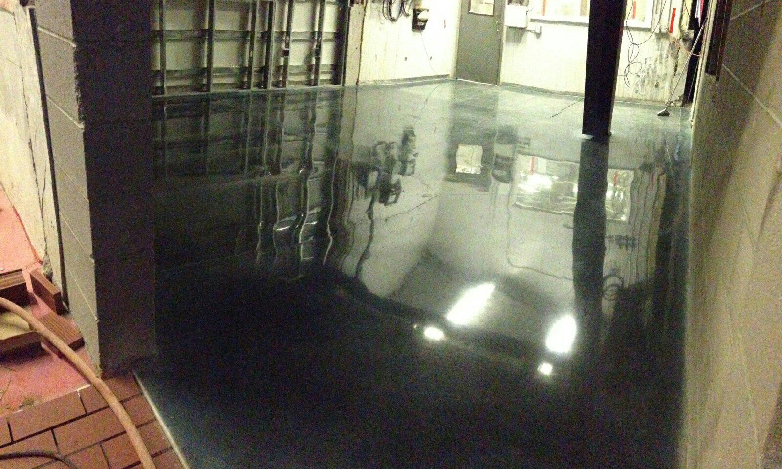800 grit polish with welsh slate stain