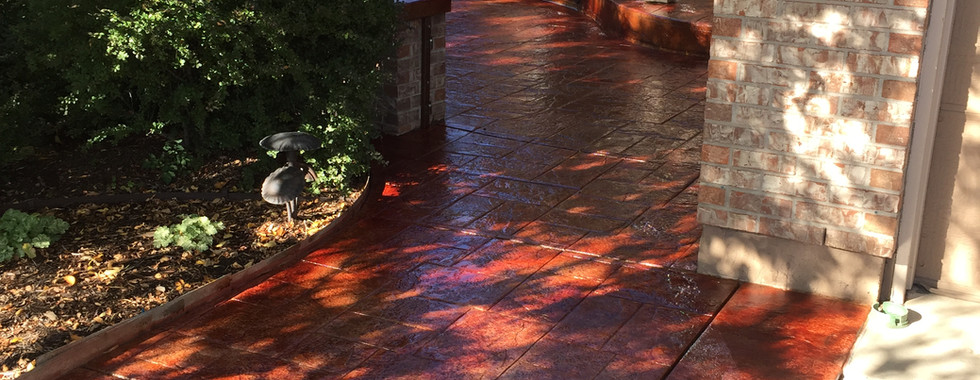 Patio Stain & Seal