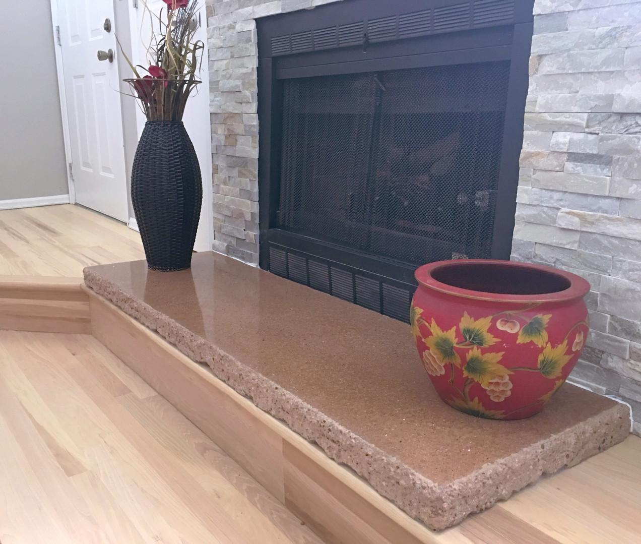 Custom Fireplace Hearth