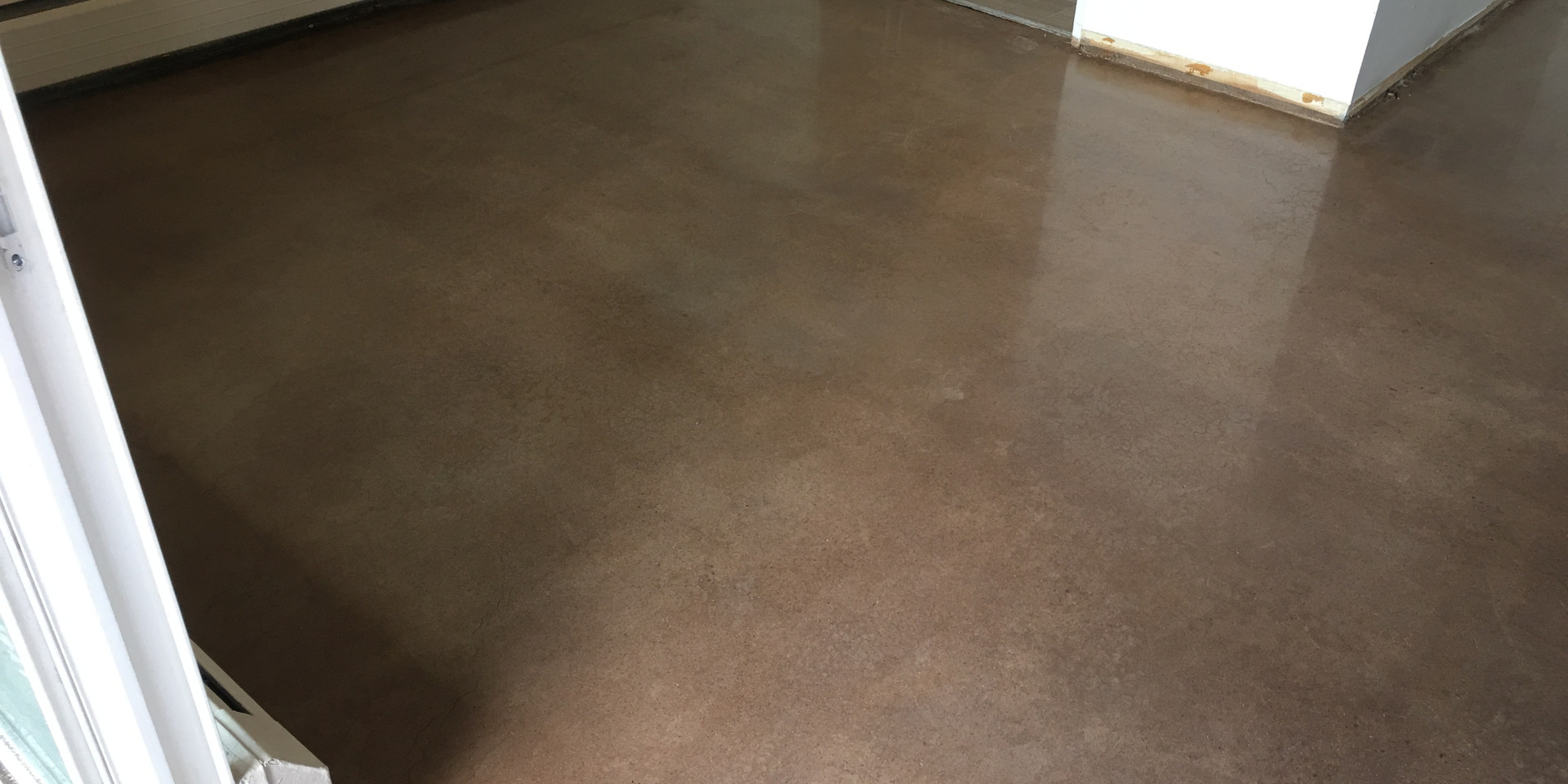 400 Grit Polish w/ Light Roast stain