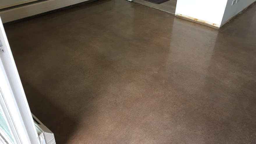 400 Grit Polish w/ Light Roast stain