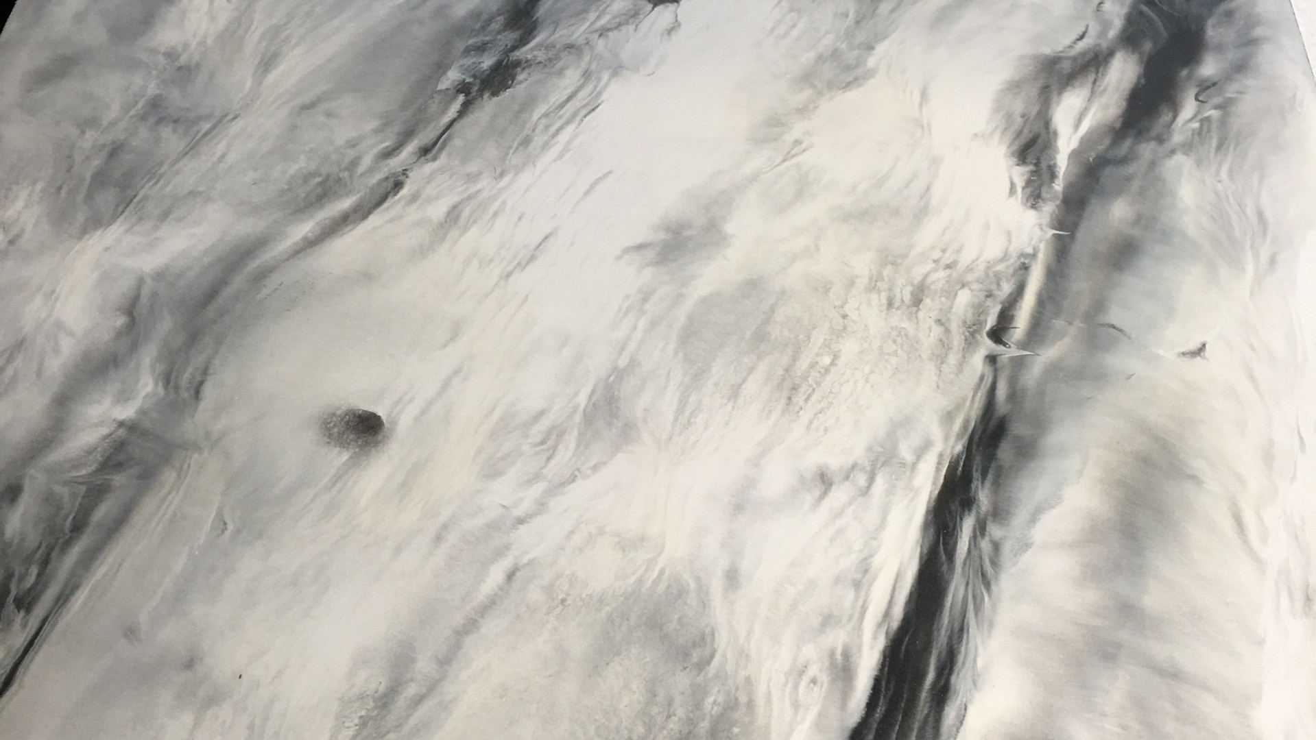 Pearl Base w/ Gunmetal Charcoal & Sienna accents