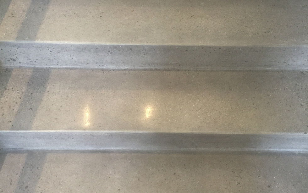 200 Grit Polished Stairs