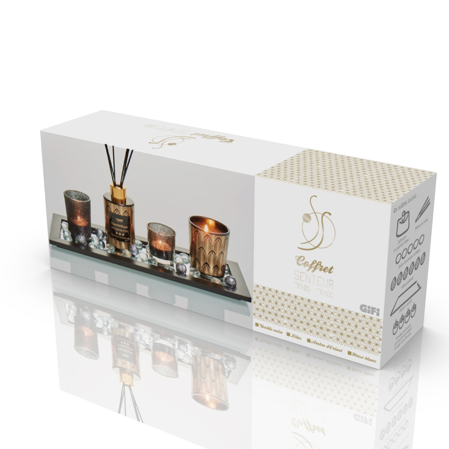Packaging - Coffret senteur