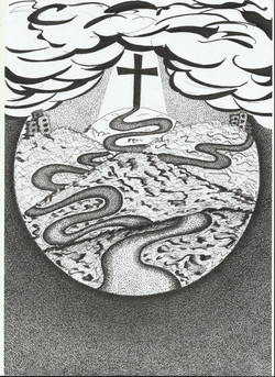 Focus on the cross