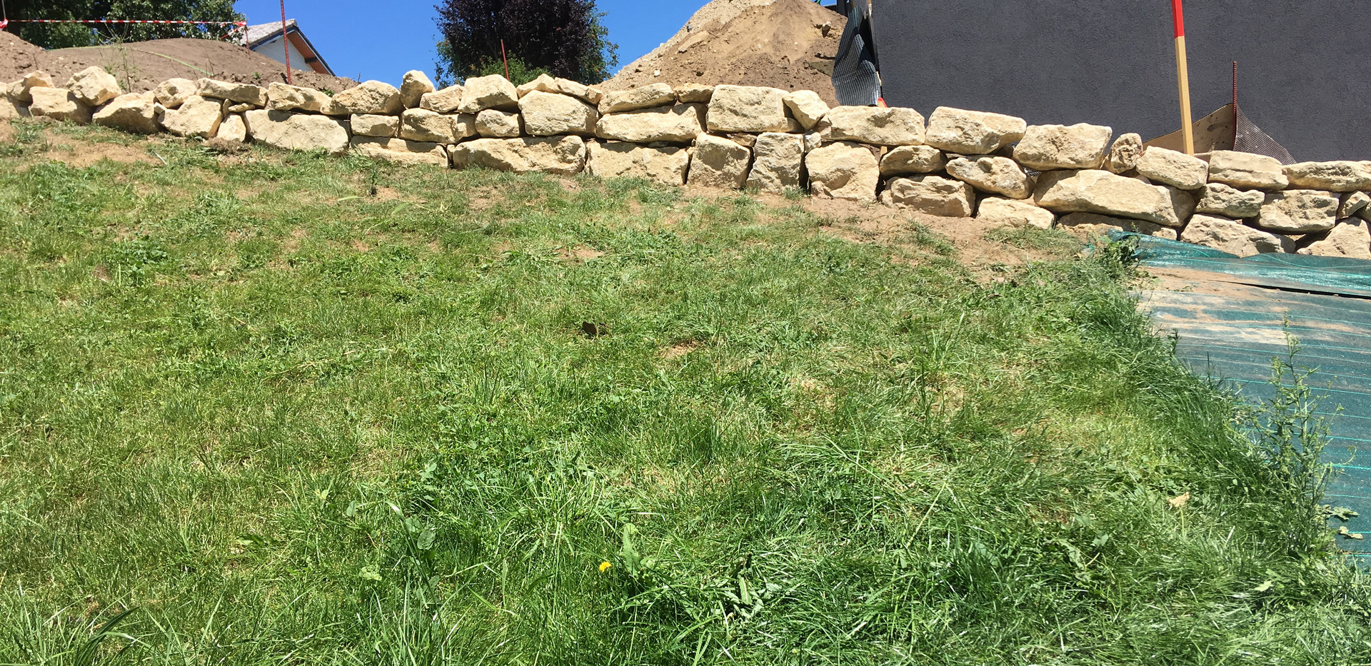 Fuchs Réalisations - Mur en pierre naturelle