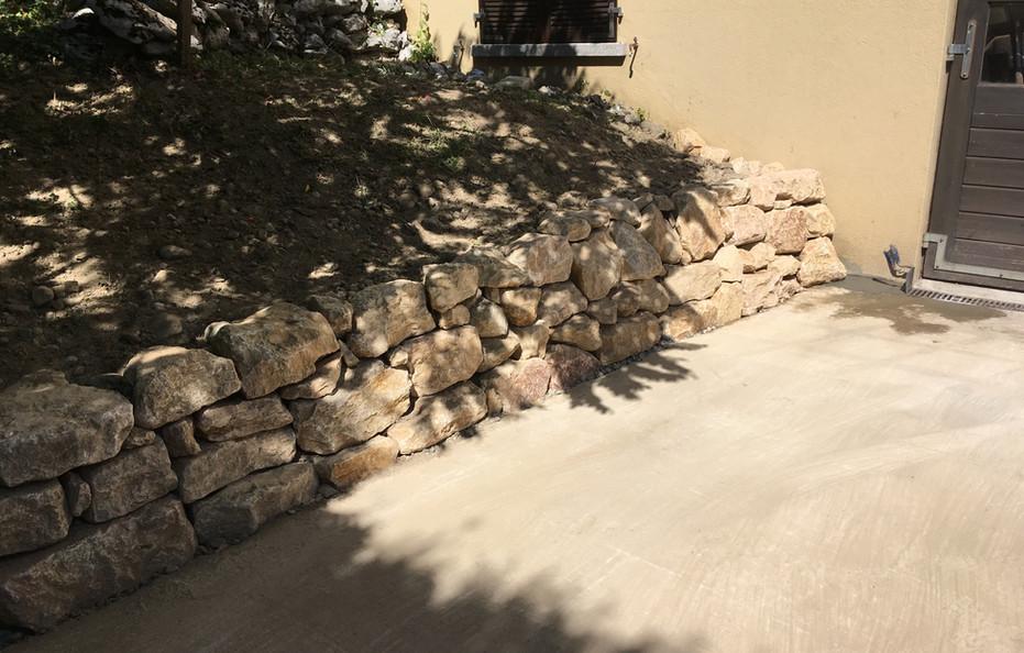 Fuchs Réalisations - Mur en pierres naturelles