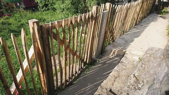 des mélèzes paysagiste - clôtures