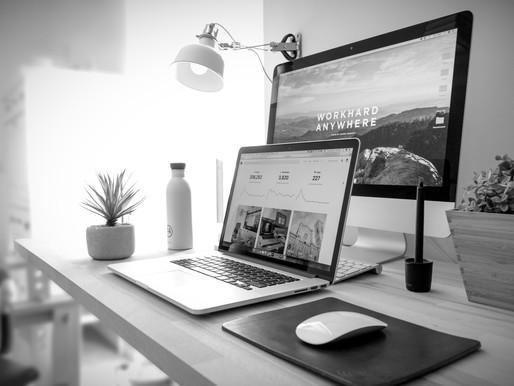 La création d'un nouveau site internet