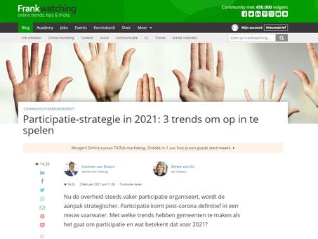 Participatie-strategie in 2021: 3 trends om op in te spelen