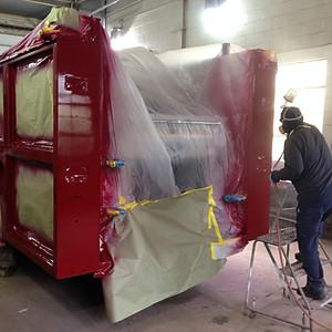 Branford Engine 4 Repairs and Paint
