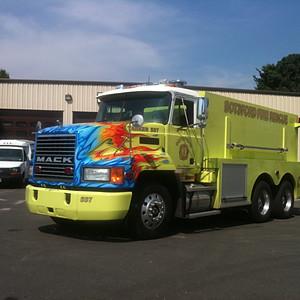 Botsford Fire Department Tanker 57