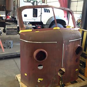 Fire Truck Nose Built for Podium