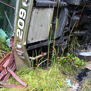 Sumpter, SC Firetruck Roll Over Repair