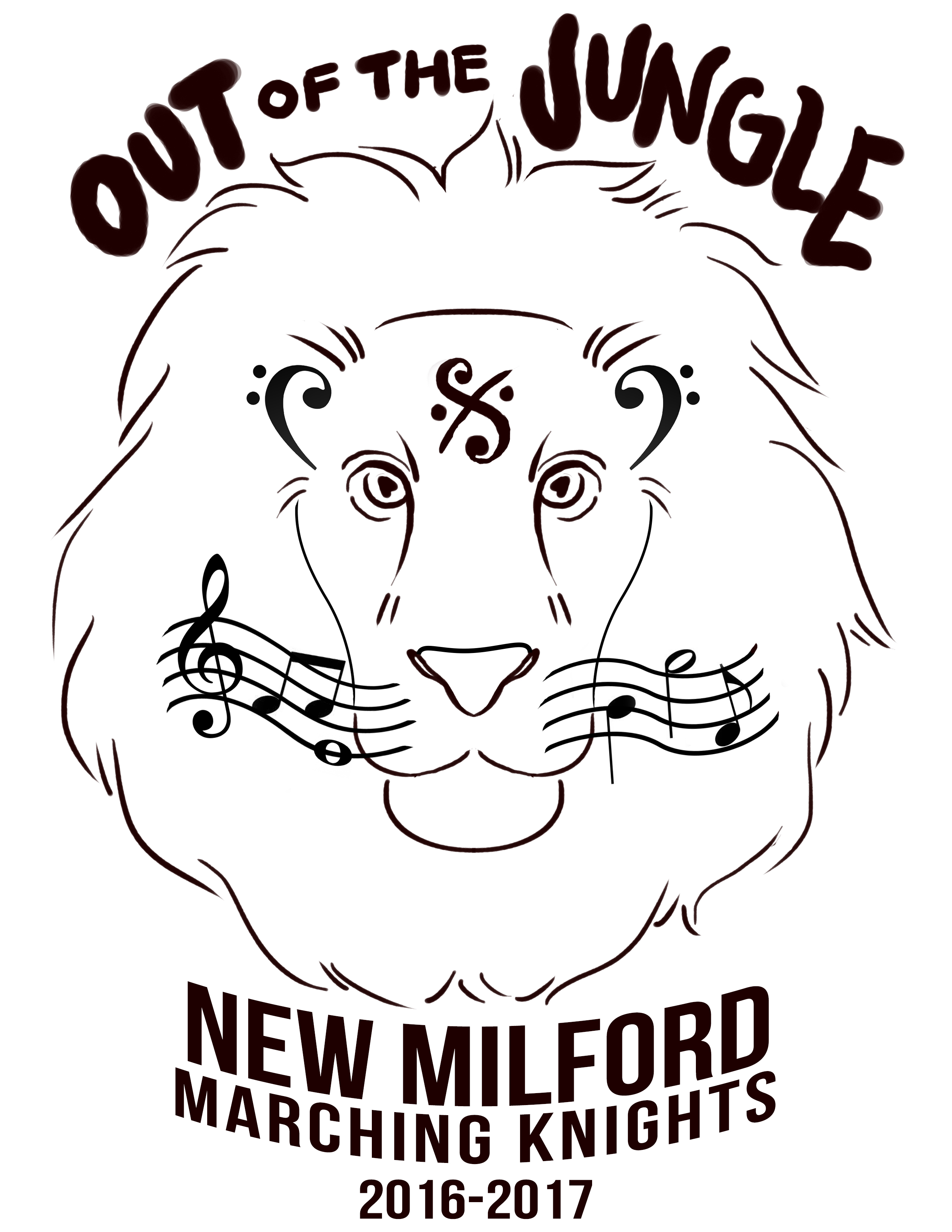 NMHS Marching Band Logo 2016-2017