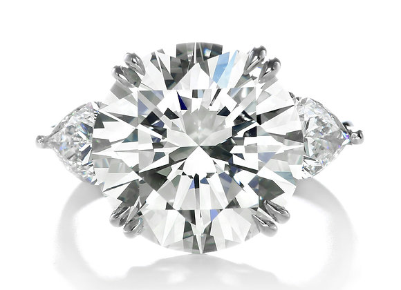 10ct Round Forevermark Exceptional
