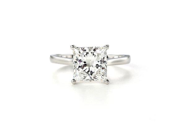 Radiant Diamond Solitaire