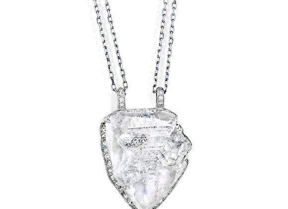 8.00ct Rough Diamond Pendant
