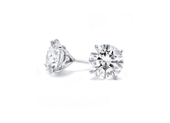 Round Diamond Studs