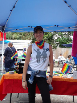 CCLGBT booth at Gay Fest