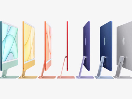 """New 24"""" M1 iMacs available to order! We can even do them with Windows 10 and Linux!"""