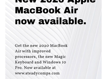 New Quad Core MacBook Air available to order!