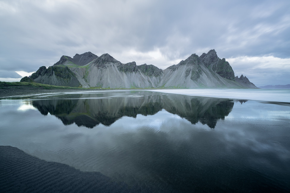 Reflections at Vestrahorn