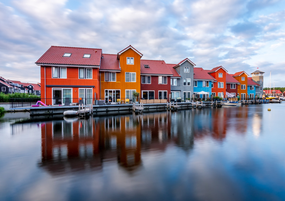 Colorful Homes in Groningen