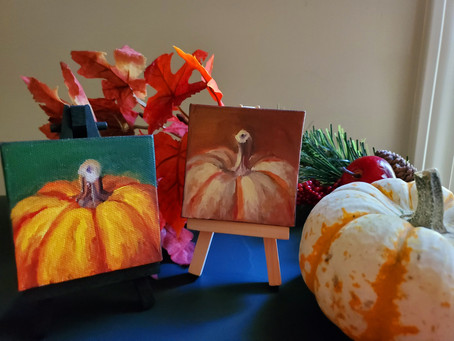 Mini Canvas Paintings