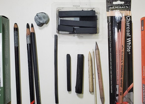 Charcaol Drawing Supplies