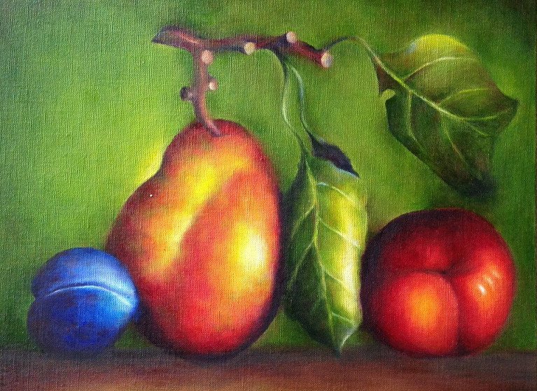 Rainbow in Fruits