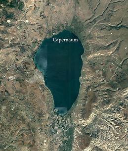 Sea of Galilee with Capernaum.JPG