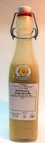 Hausdressing Honig-Senf