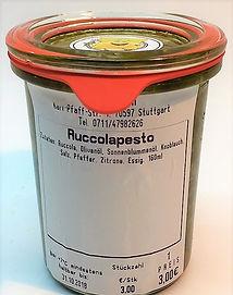 Ruccola-Pesto
