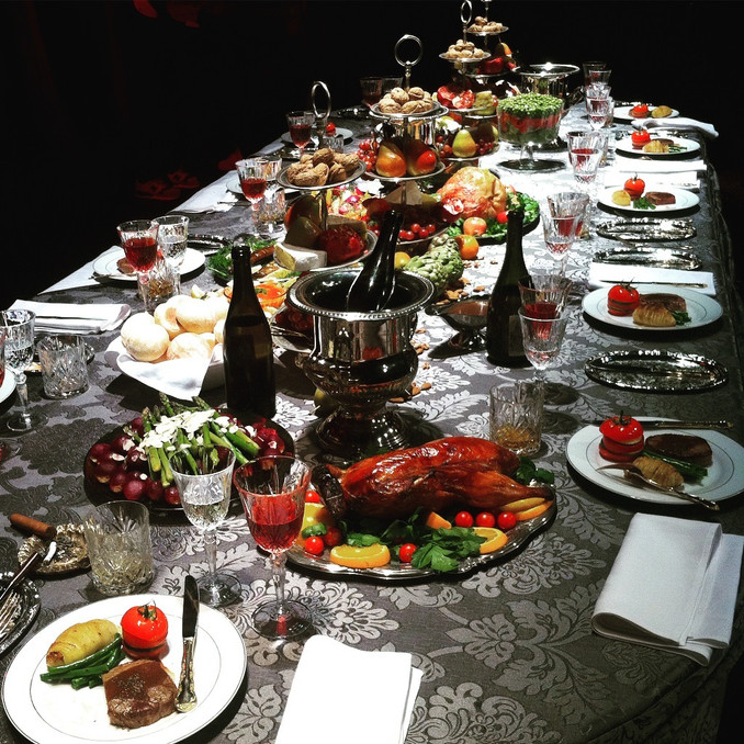 A feast for a feature film.