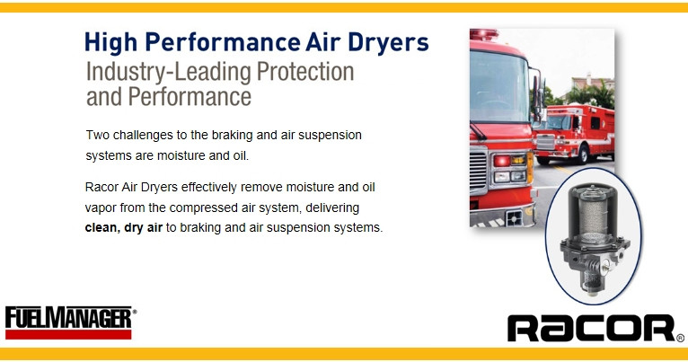 Racor High Performance Break Air Dryers