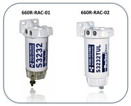 660R-RAC Fuel Filter Water Separators