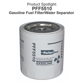 PFF5510 Marine Gasoline Fuel Filter/Water Separator