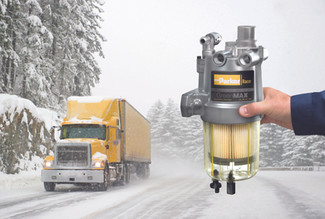 """GreenMAX™ """"Cold Weather Proof"""" Fuel Filter/Water Separator"""