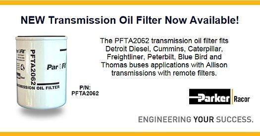 Racor Transmission Oil Filter for Allison Transmission Remote
