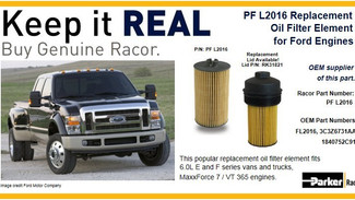 Keep it Real: Ford Oil Filters