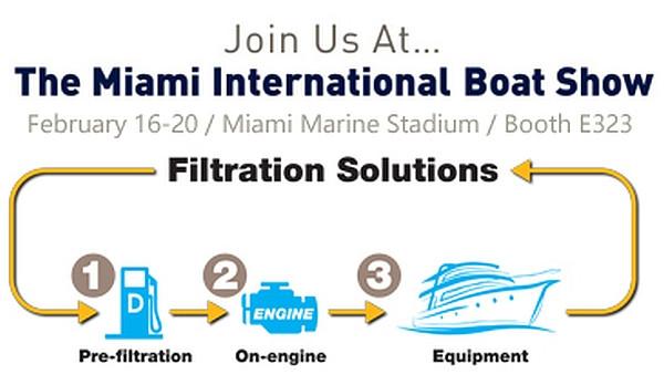 Racor Miami International Boat Show