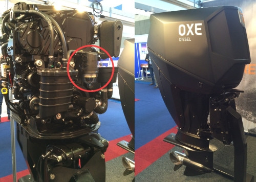 OXE Marine Diesel Outboard Racor Snapp