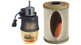 New Racor Compact Diesel Fuel Filter with Pump: Diesel Progress
