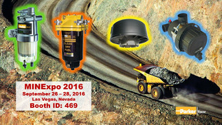 Racor at MinExpo Sept 26-28