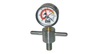 Stainless Steel T-Handle Gauge for 900, 1000, 500* Racor Turbine Series: RK23284