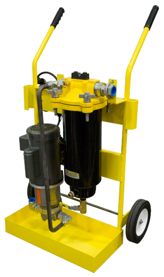 Introducting Racor's CLEANDiesel Portable Diesel Fuel Filtration Cart